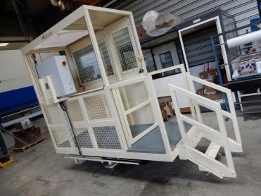 Bohrmaschine Graffenstaden kabine