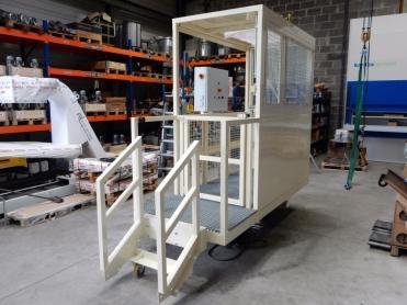 Kabine Graffenstaden Bohrmaschine