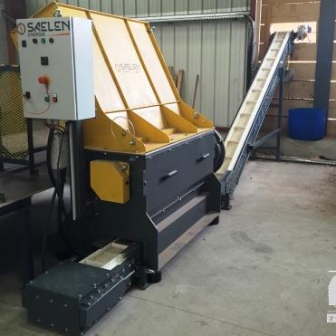 zerkleinerungsmaschine von paletten forderer
